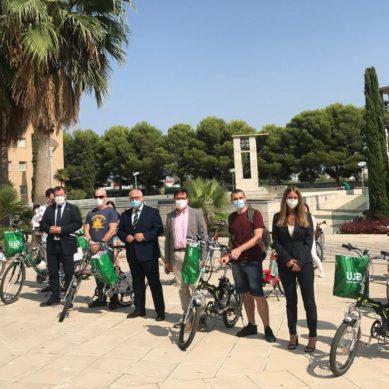 Un carril bici conectará el campus de la UJA con distintos puntos de la ciudad