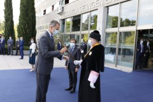 Ceremonia de apertura del curso en Madrid