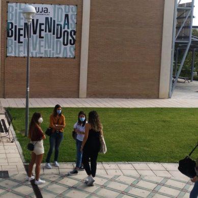 Ilusión, optimismo y seguridad el primer día de clase en la UJA