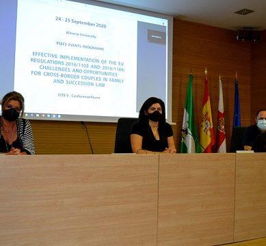 Derecho de familia y sucesiones, a debate en un congreso online en la UAL