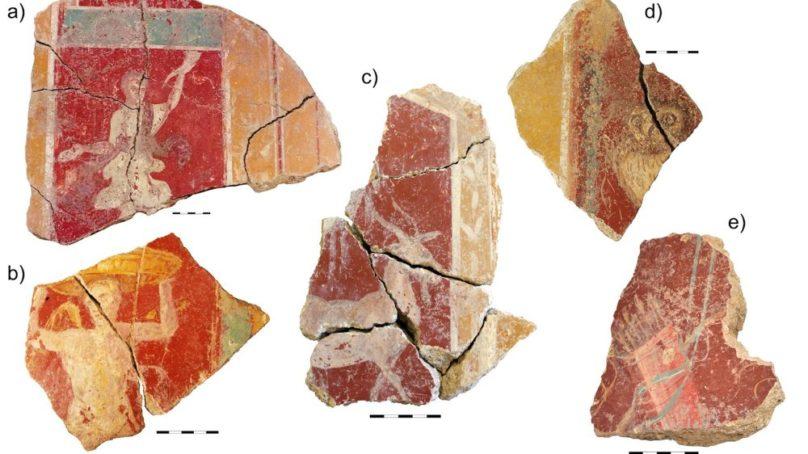 Expertos de la UJA resaltan el valor histórico y artístico de las decoraciones murales de Cástulo