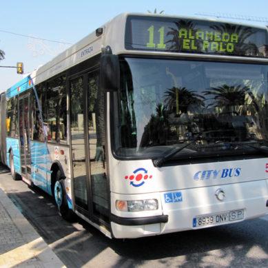 La EMT refuerza las líneas de autobuses para la selectividad en Málaga