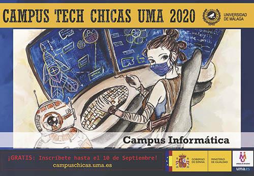 La UMA anuncia un Campus gratuito en informática para despertar vocaciones femeninas en la ESO