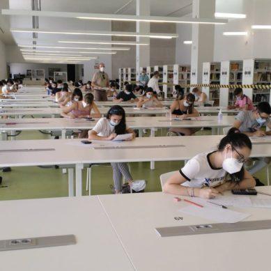 Medio Millar de estudiantes realizarán la PEvAU en Jaén la próxima semana