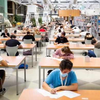 Un total de 342 estudiantes se examinan desde el lunes de la PEVAU en la UPO
