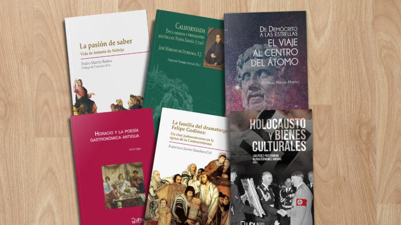 Publicaciones de la UHU, candidatas a los XXIII Premios Nacionales de Edición Universitaria