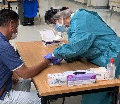 La UAL realiza test serológicos a su personal para conocer la situación ante el Covid-19