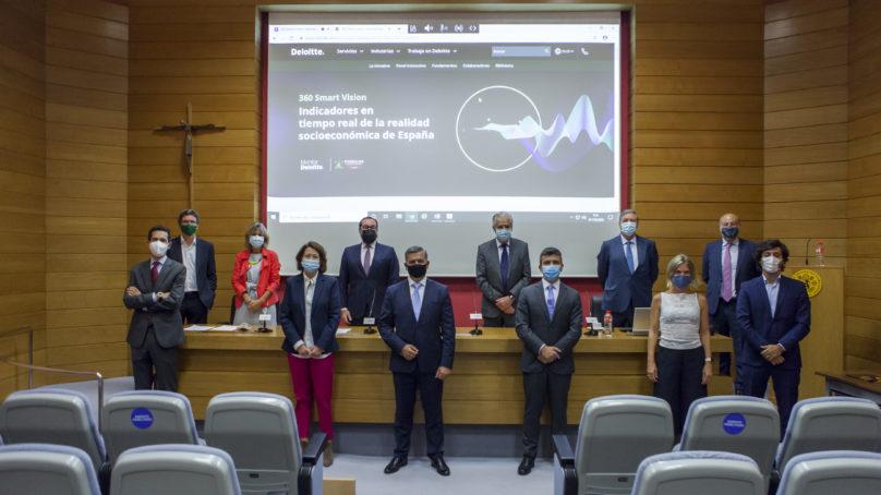 Comillas y Deloitte lanzan un panel que mide en tiempo real la realidad socioeconómica de España