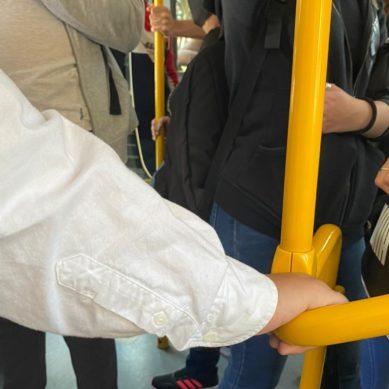 Estudiantes de la UAL muestran su preocupación por falta de seguridad en el transporte público al campus