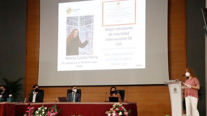 Jornada de bienvenida para el alumnado internacional de la UJA