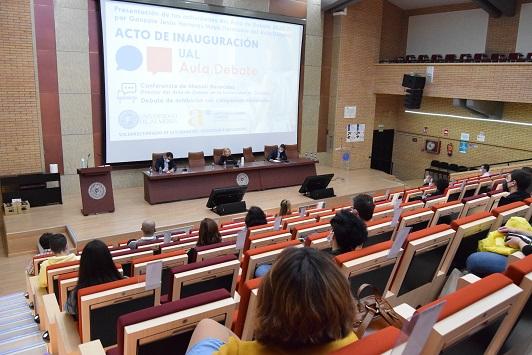 Inaugurada el Aula de Debate UAL 2020 con un amplio calendario de actividades