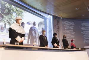 Momento de la Apertura del Curso 2020/21 de la UHU