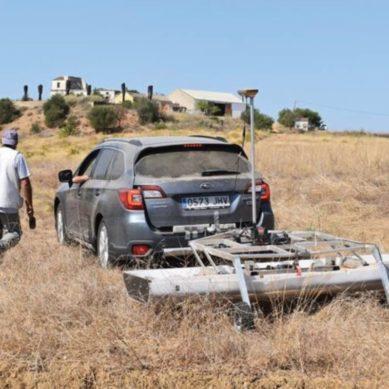 Expertos de la UCA utilizan un georradar 3D para explorar el yacimiento romano de Balsa en Portugal