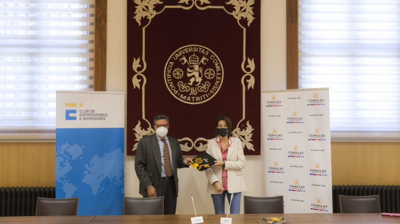 El Club de Exportadores y Comillas suscriben un acuerdo marco de colaboración