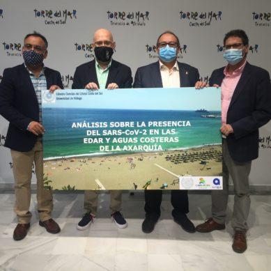 Un estudio de la UMA garantiza el baño seguro, libre de Sars-COV2, en los cinco municipios del litoral de la Axarquía