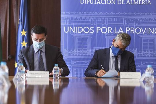 UAL y Diputación se comprometen a fijar el talento almeriense en la provincia