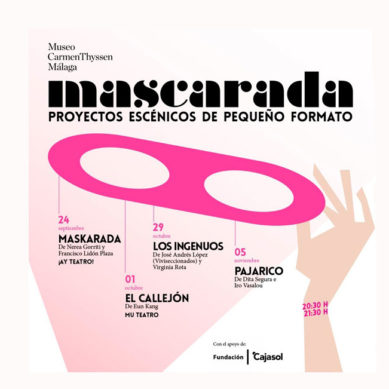 """El Museo Carmen Thyssen Málaga retoma el ciclo de artes vivas """"Mascarada"""" con la obra """"Los ingenuos"""""""