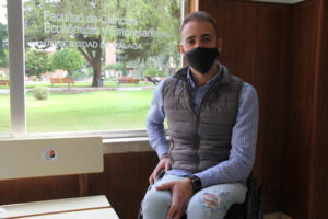 Antonio Molina tercer premio SEDEA en ADE