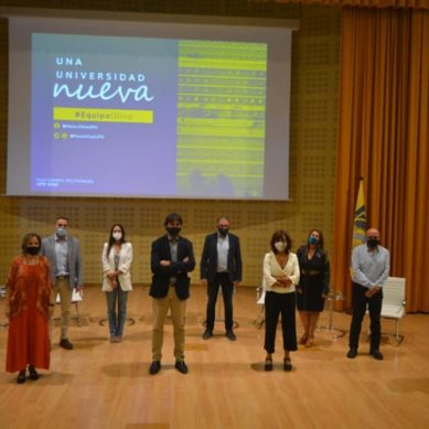 Paco Oliva concluye su campaña electoral con un acto para visibilizar el talento nacido en el seno de la UPO