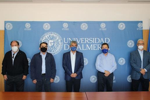 Las primeras acciones de la Cátedra del Agua de la UAL dan sus frutos