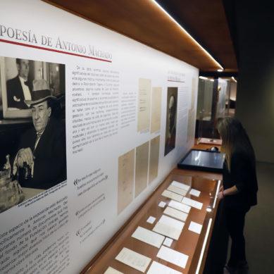 La Fundación Unicaja adapta los horarios de su exposición con fondos de los hermanos Machado