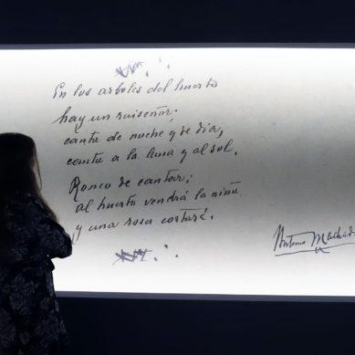 La exposición con fondos de los hermanos Machado se adapta a los horarios de restricción