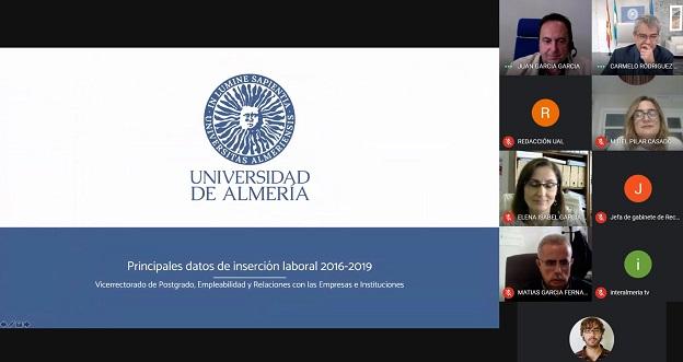La inserción laboral de los egresados UAL destaca a nivel andaluz
