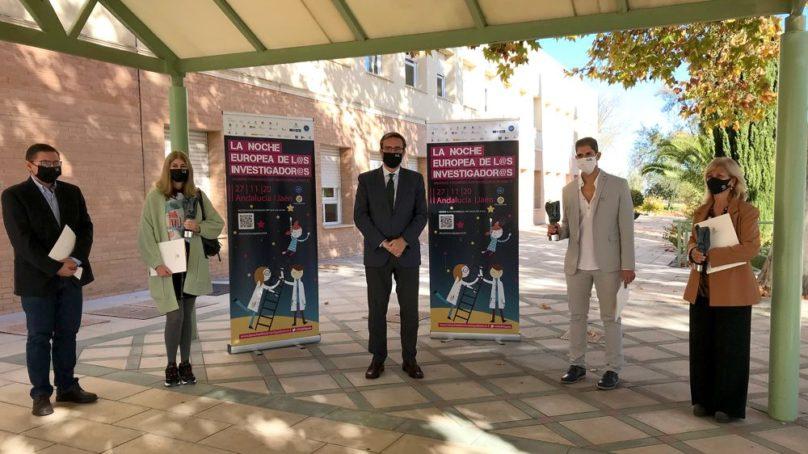 Un centenar de científicos de la UJA participan en La Noche Europea de los Investigadores de Jaén