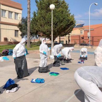 Estudiantes de la UCA realizan un simulacro de asistencia sanitaria en un posible escenario Covid