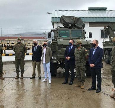 La UCO colabora con el Ejército en un estudio sobre el vehículo militar MaxxPro