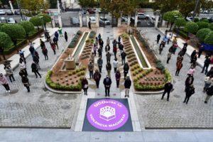 La Universidad de Córdoba se concentra contra la violencia machista