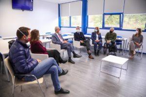 visita del alcalde de Málaga a ESIC Business