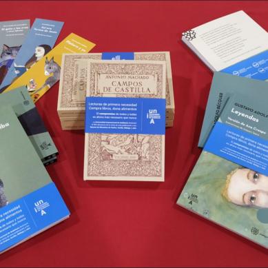 La UNIA edita tres publicaciones, cuyos beneficios destinará íntegramente a los Bancos de Alimentos