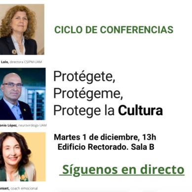 El Centro Superior de Investigación y Promoción de la Música de la UAM organiza un ciclo de conferencias para fomentar el valor de la Cultura segura
