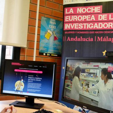 La edición 2020 de La Noche Europea de los Investigadores de Málaga lleva la ciencia a la red
