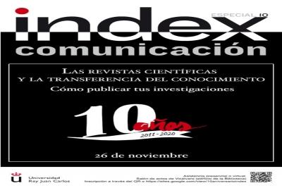 La revista de la URJC Index.comunicación celebra su décimo aniversario