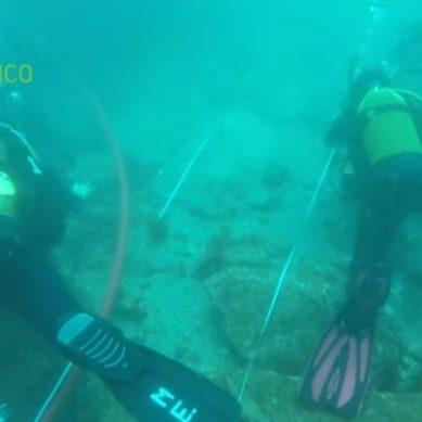 Una ruta guiada bajo el agua para explorar yacimientos sumergidos en el Parque Natural del Estrecho