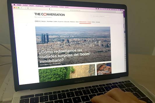 La investigación de la UAL encuentra un nuevo canal de divulgación en 'The Conversation'