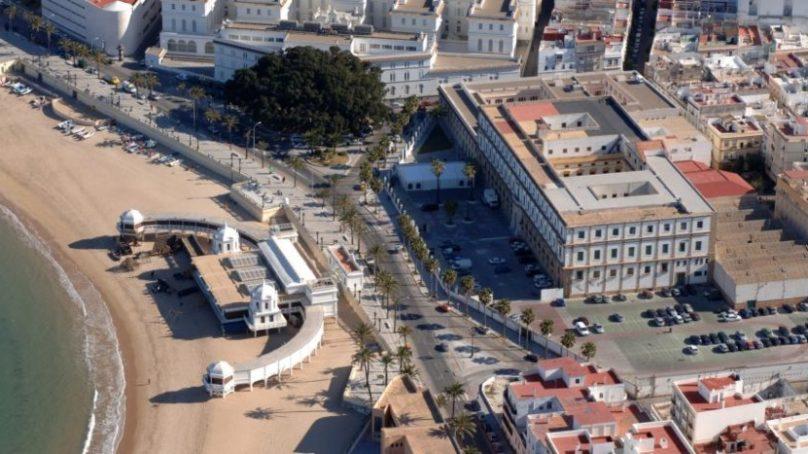 La UCA avanza en la rehabilitación del edificio histórico de Valcárcel como nueva Facultad de Educación