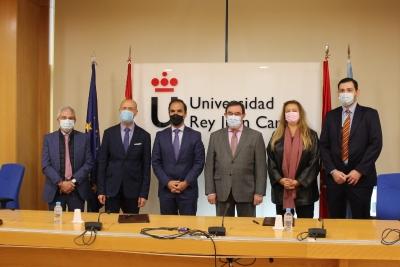 La Clínica Universitaria de la URJC y el Hospital Severo Ochoa llegan a un acuerdo de colaboración.