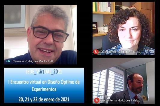 La UAL celebra su I Encuentro virtual en Diseño Óptimo de Experimentos