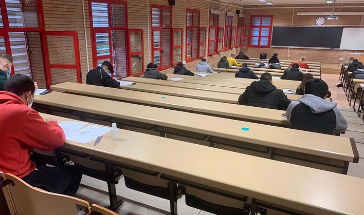 """La UAL destaca la """"responsabilidad"""" mostrada al inicio de los exámenes de enero"""