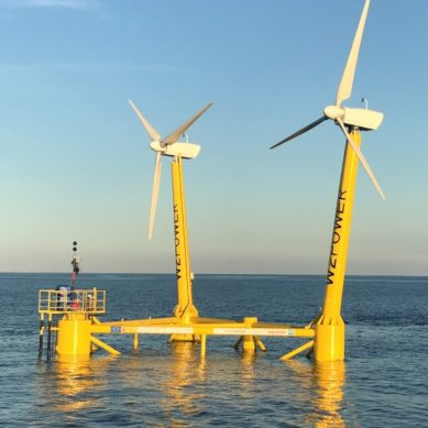 La UCA y la UMA participan en el proyecto para la primera plataforma eólica flotante en aguas españolas