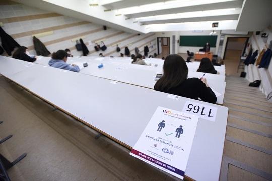 Los exámenes en la UCO se reanudan con un refuerzo de las medidas sanitarias
