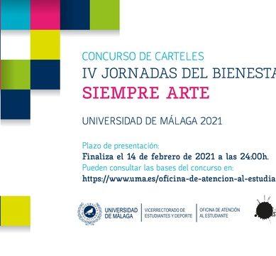 Concurso para elaborar el cartel de las IV Jornadas del Bienestar: Siempre Arte