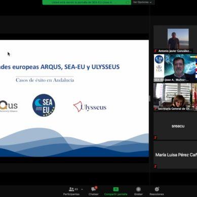 Tres 'alianzas universitarias europeas' impulsadas desde Andalucía