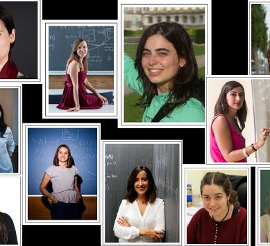 Las ganadoras del Premio Vicent Caselles, portada del Boletín Matemático de la UAL