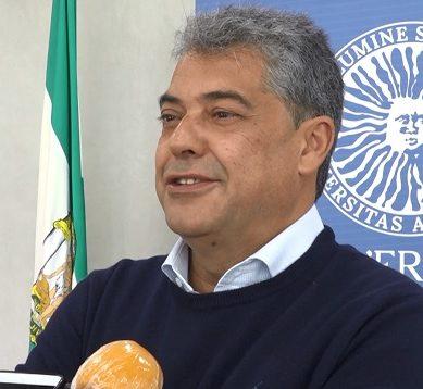 """Carmelo Rodríguez: """"La UAL es un espacio súper seguro, y con la Certificación AENOR incluida"""""""