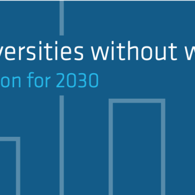 La CRUE se suma al posicionamiento de la EUA 'Universities without walls. A vision for 2030'