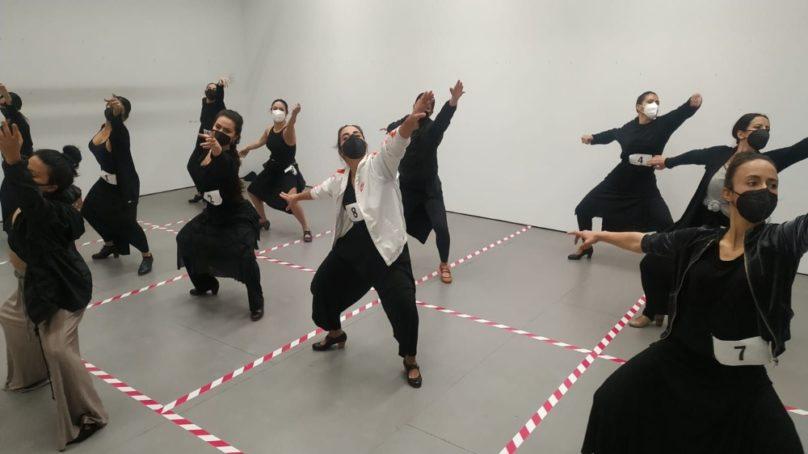 Audiciones de baile en el CICUS para el próximo espectáculo de Mercedes de Córdoba